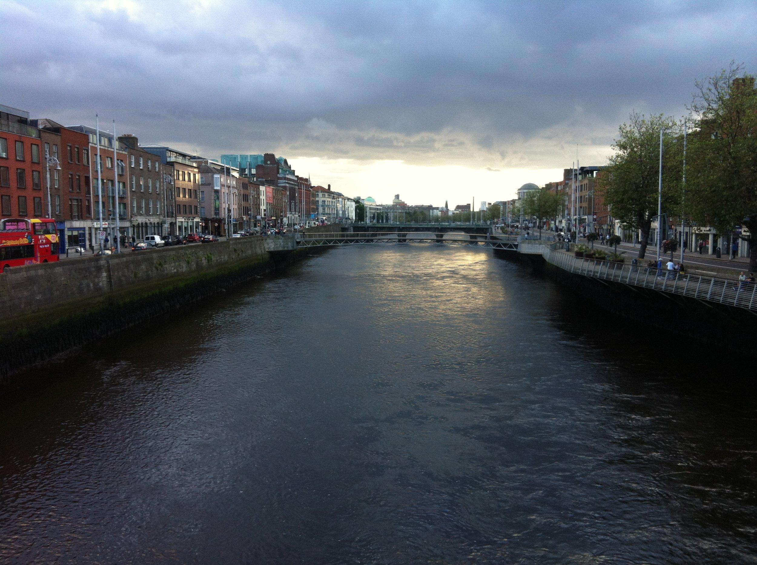 River Liffey - Dublin, Ireland