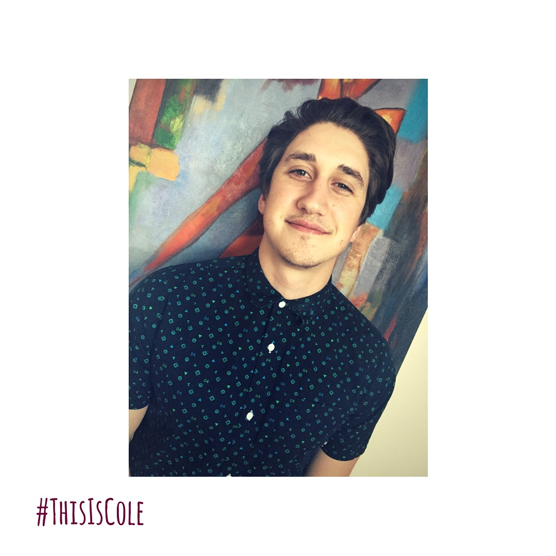 #ThisIsCole - PLAYED BY TREVOR HORNE.This is Trevor. He grew up playing competitive hockey, chasing girls, and attended Harvard at the age of 9. Two of these facts are true. He has an older brother and sister, and grew up in Vancouver and Toronto. You can usually find him on a snowboard, surfboard or watching sports when he's not on set, or training at Austin-Tuck Studios.