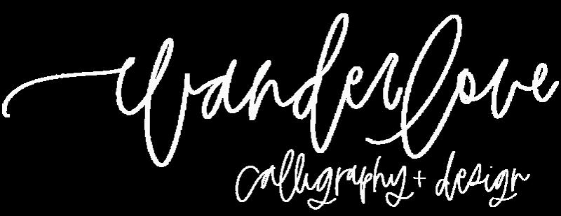 Wanderlove Calligraphy & Design in Manahawkin, NJ