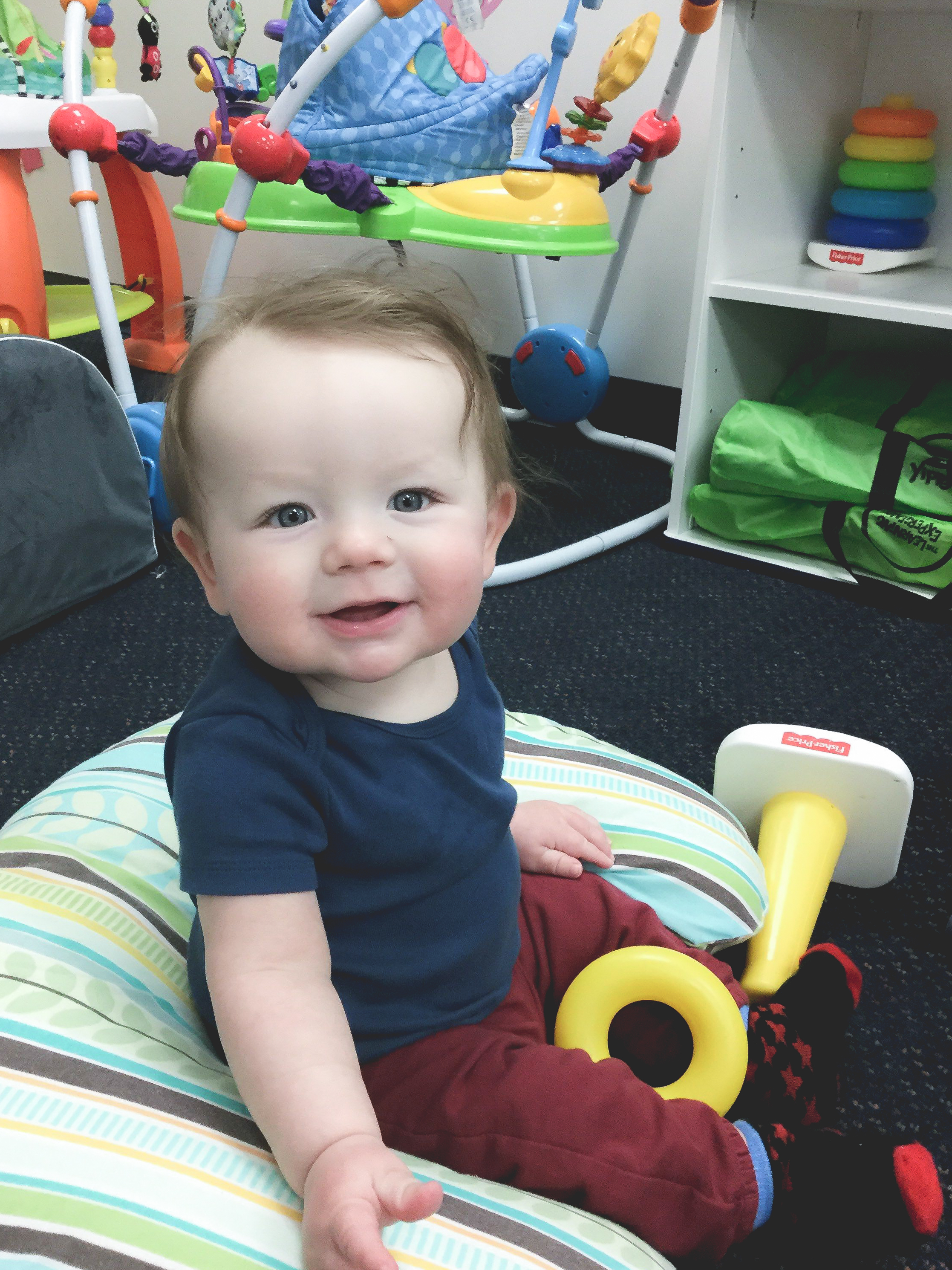 Lincoln at Daycare — January 2018