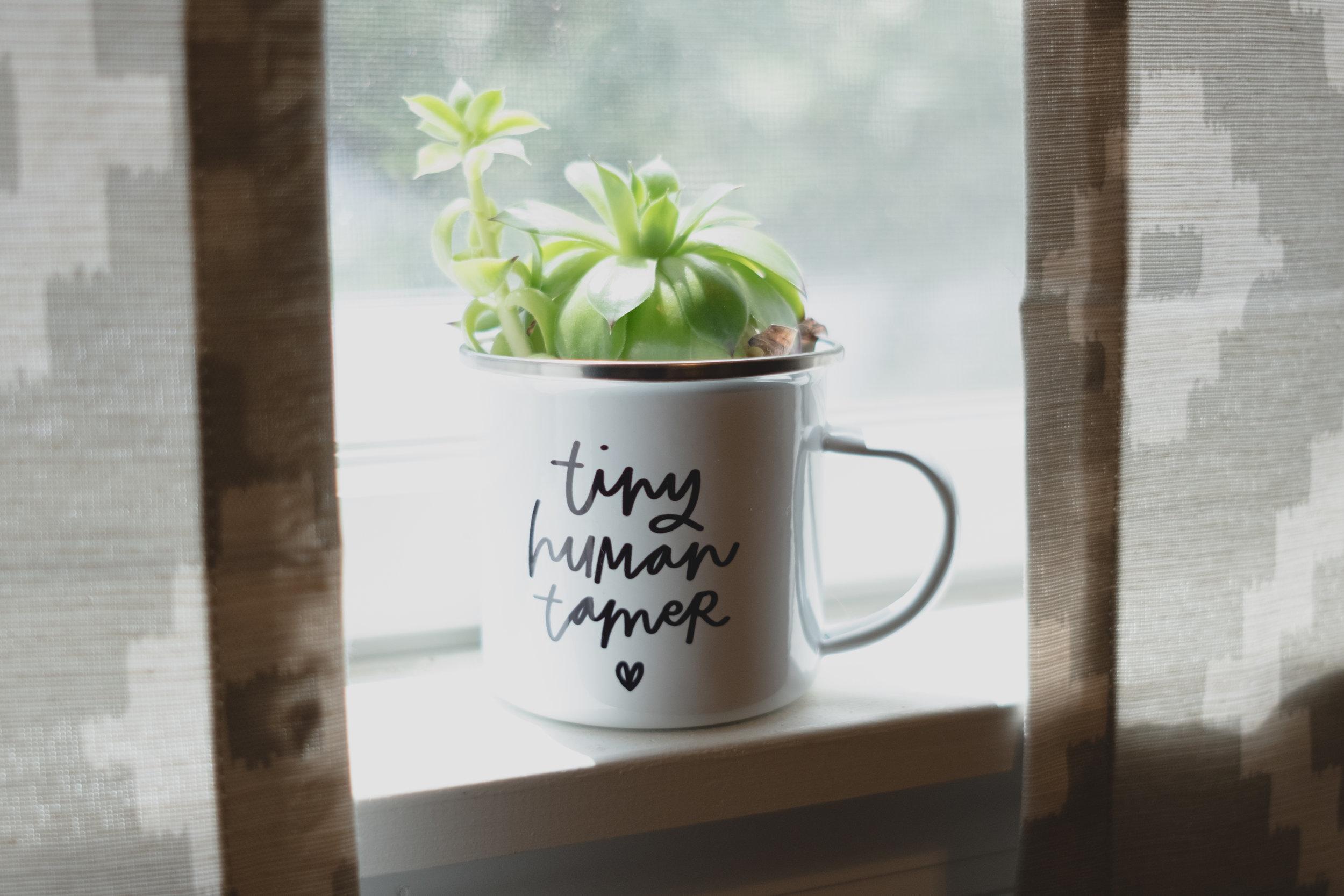 Tiny Human Tamer by Wanderlove Calligraphy & Design