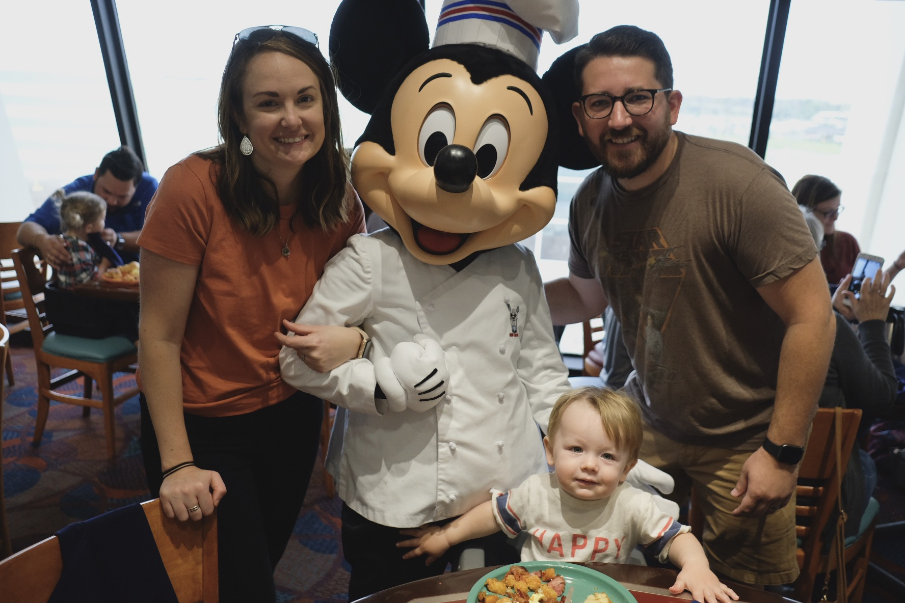 Our family at Disney World