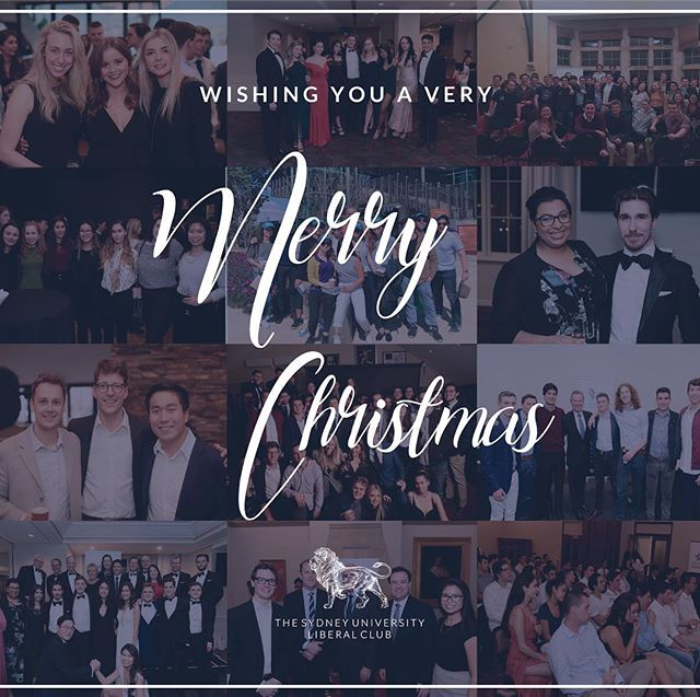 From everyone at the Sydney University Liberal Club, we wish you a very Merry Christmas and a prosperous 2019!