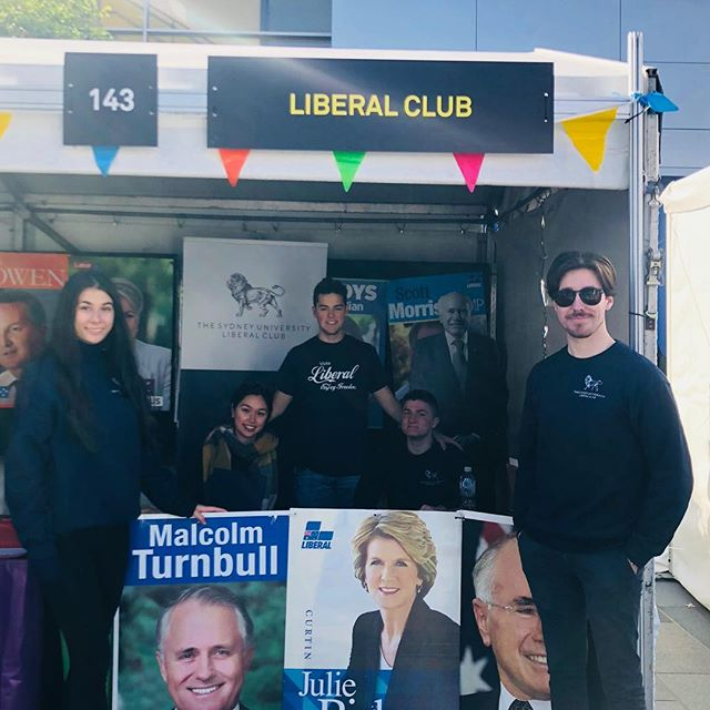 Come visit our stall on Eastern Avenue to join the largest Liberal Club in Australia! 👊🇦🇺