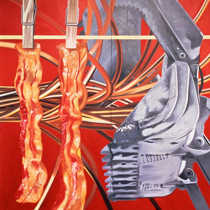 Cover art: James Rosenquist ,  Industrial Cottage  (detail)
