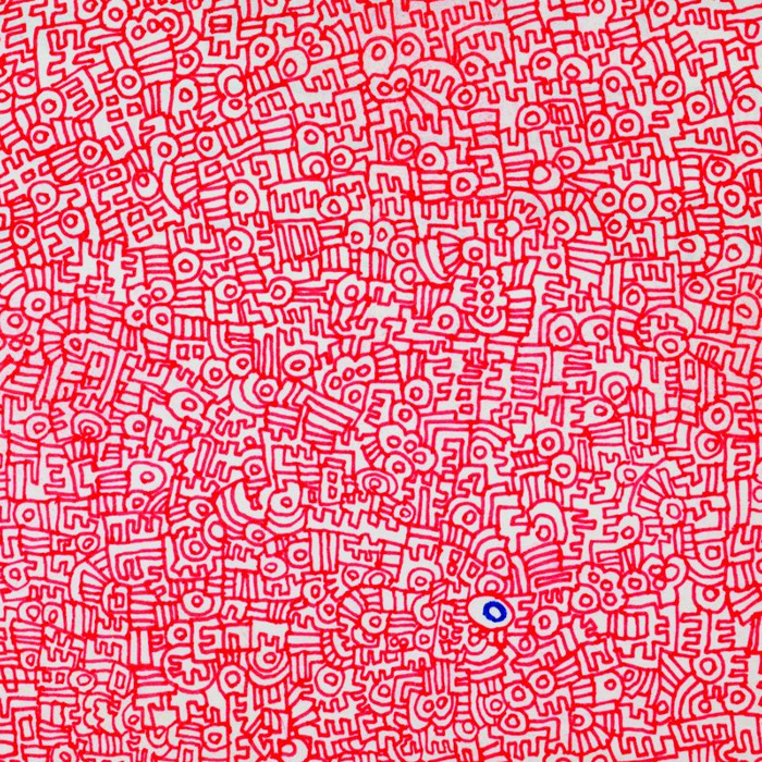 Cover art: Keith Haring ,  Untitled Journal Drawing  (crop)