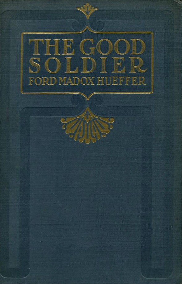 Ford Madox Ford, The Good Soldier [London; 1915] - A delight to read from beginning to end, even as the sturdy moral and psychological façade of the opening chapters slides irrevocably into betrayal, deceit, cruelty, and insanity -- all of which has already happened. In a sense the novel functions as a synecdoche for the end of the settled, pious, and technocratic nineteenth century, a declaration that the madness and horror which sprang into being during World War I had always been there under the surface, and that only inattention and willful blindness had kept it out of sight.This was my first time reading The Good Soldier, but I kept thinking about two books I've read frequently before:Howards End(which does believe in settled piety, though only mystically), and Brideshead Revisited(which believes in settled piety as a sneering rebuke to modernity). But it was Ford's prose rather than his themes that really recalled Forster and Waugh to me: the exquisite if bloodless prose of the English middle class that came of age before World War II. Although Ford here is supposed to be writing in character as an American -- a Philadelphian, even -- an act of cultural ventriloquism which he entirely fails to achieve, and is reduced to throwing in a colloquial