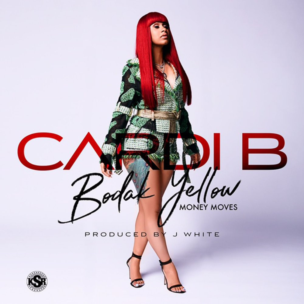 "8. Cardi B, ""Bodak Yellow"""