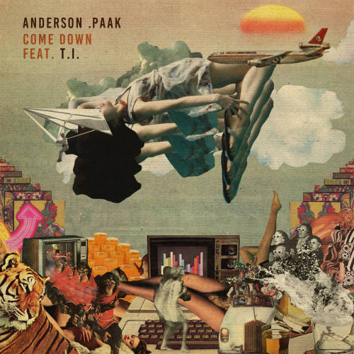 "76. Anderson .Paak ft. T.I., ""Come Down"""