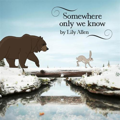 """87. Lily Allen, """"Somewhere Only We Know"""""""