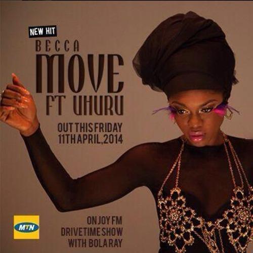 "18. Becca ft. Uhuru, ""Move"""