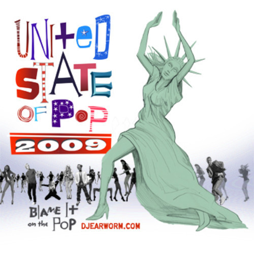 """100. DJ Earworm, """"United State of Pop 2009 (Blame It on the Pop)"""""""