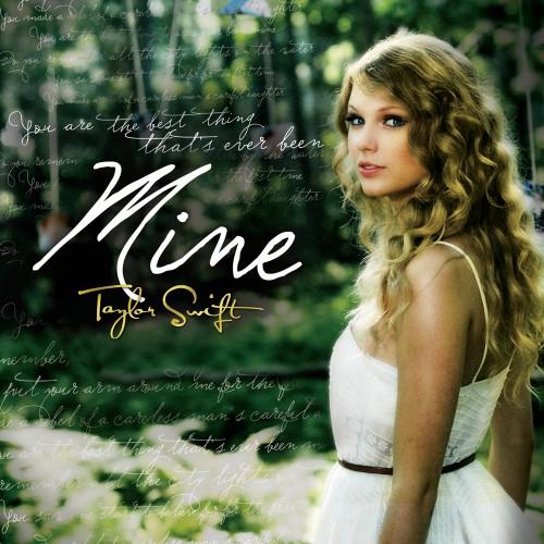 "14. Taylor Swift, ""Mine"""