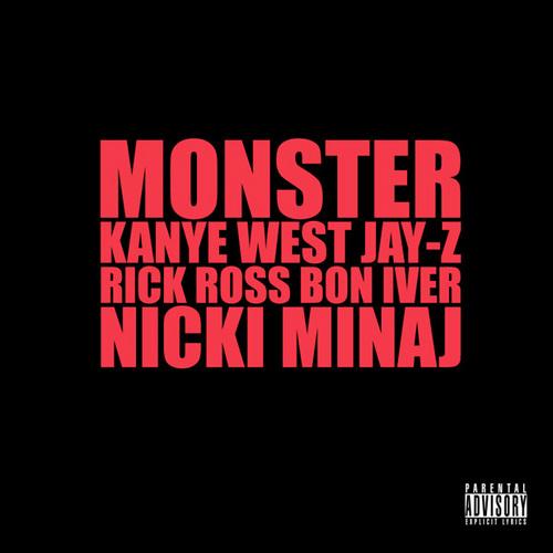 """4. Kanye West ft. Jay-Z, Rick Ross, Bon Iver & Nicki Minaj, """"Monster"""""""