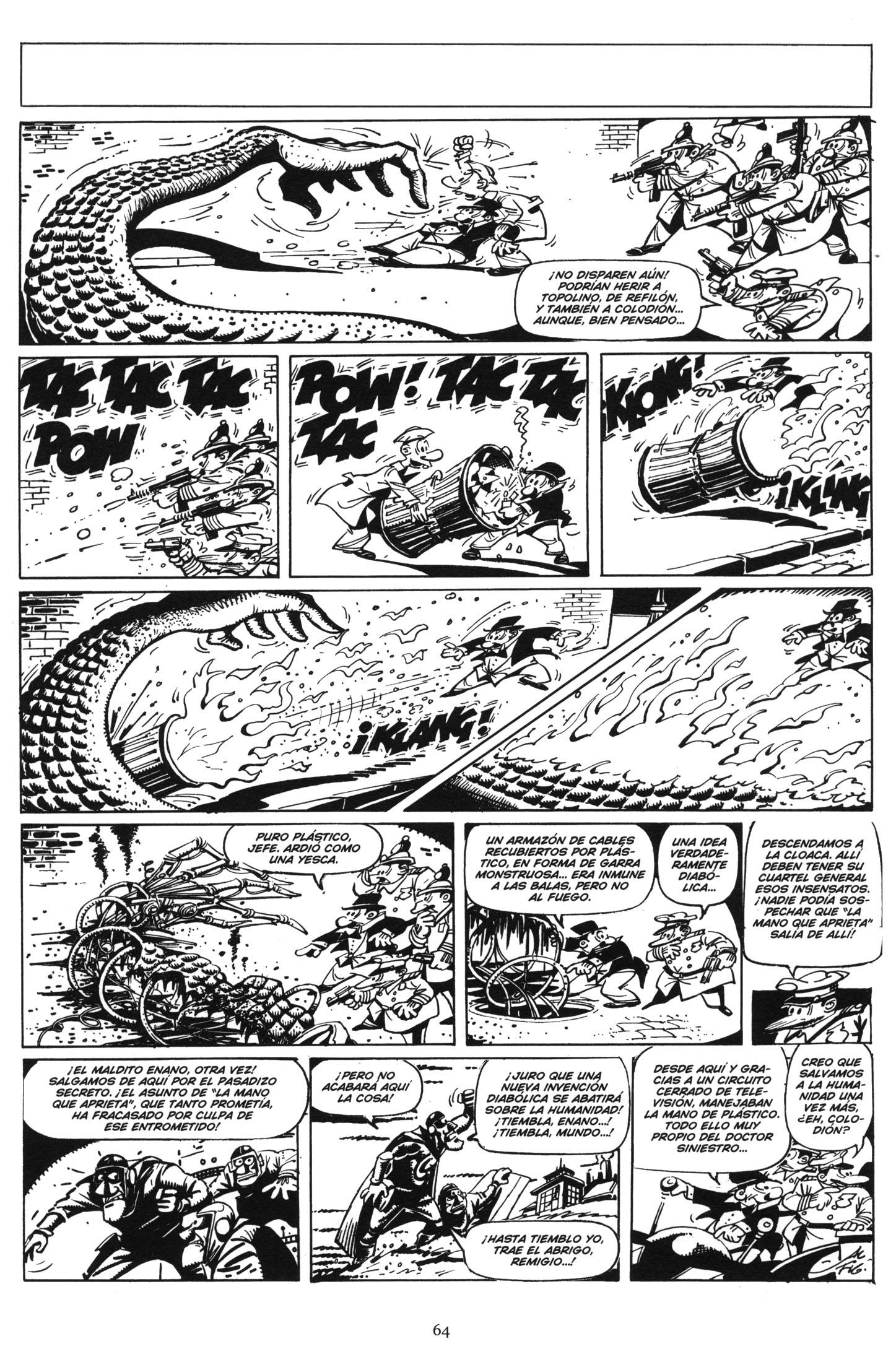 """""""Topolino"""" from  Mortadelo Super Terror , 1975, reprinted in 2006."""