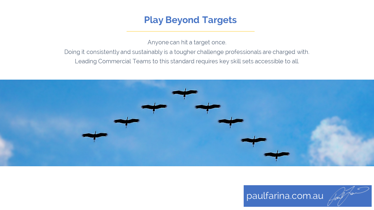Play Beyond Targets Whitepaper - A comprehensive insight