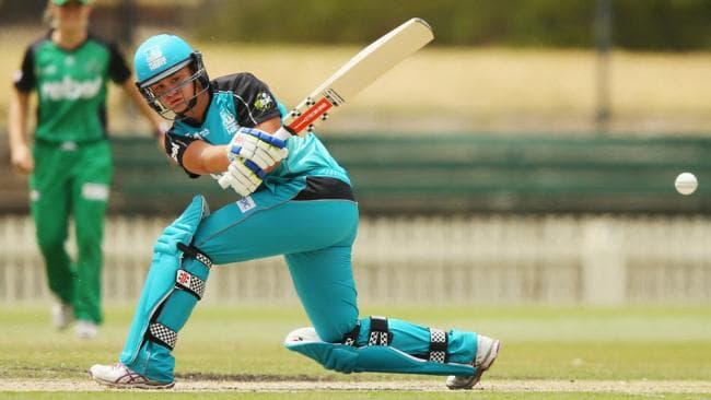 Playing Twenty20 cricket fro Brisbane - taking a break