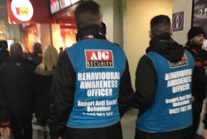 AFL's reaction to the increased poor behaviour in match day crowds (image: Reddit)