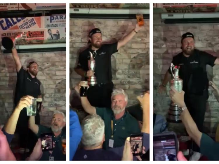Lowry celebrating his win in the pub with his mates and a bunch of locals. Fun isn't dead in professional sport, but is it dead in our professional setting?