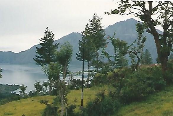 Mt Batur Crater Lake