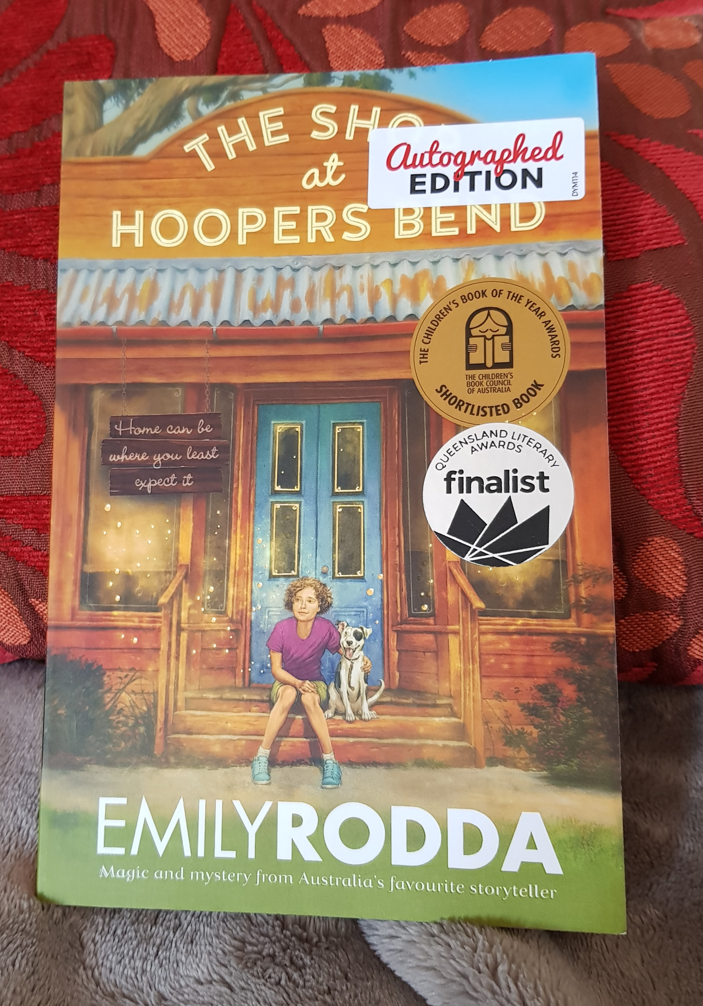 The latest awesome MG novel by Emily Rodda.