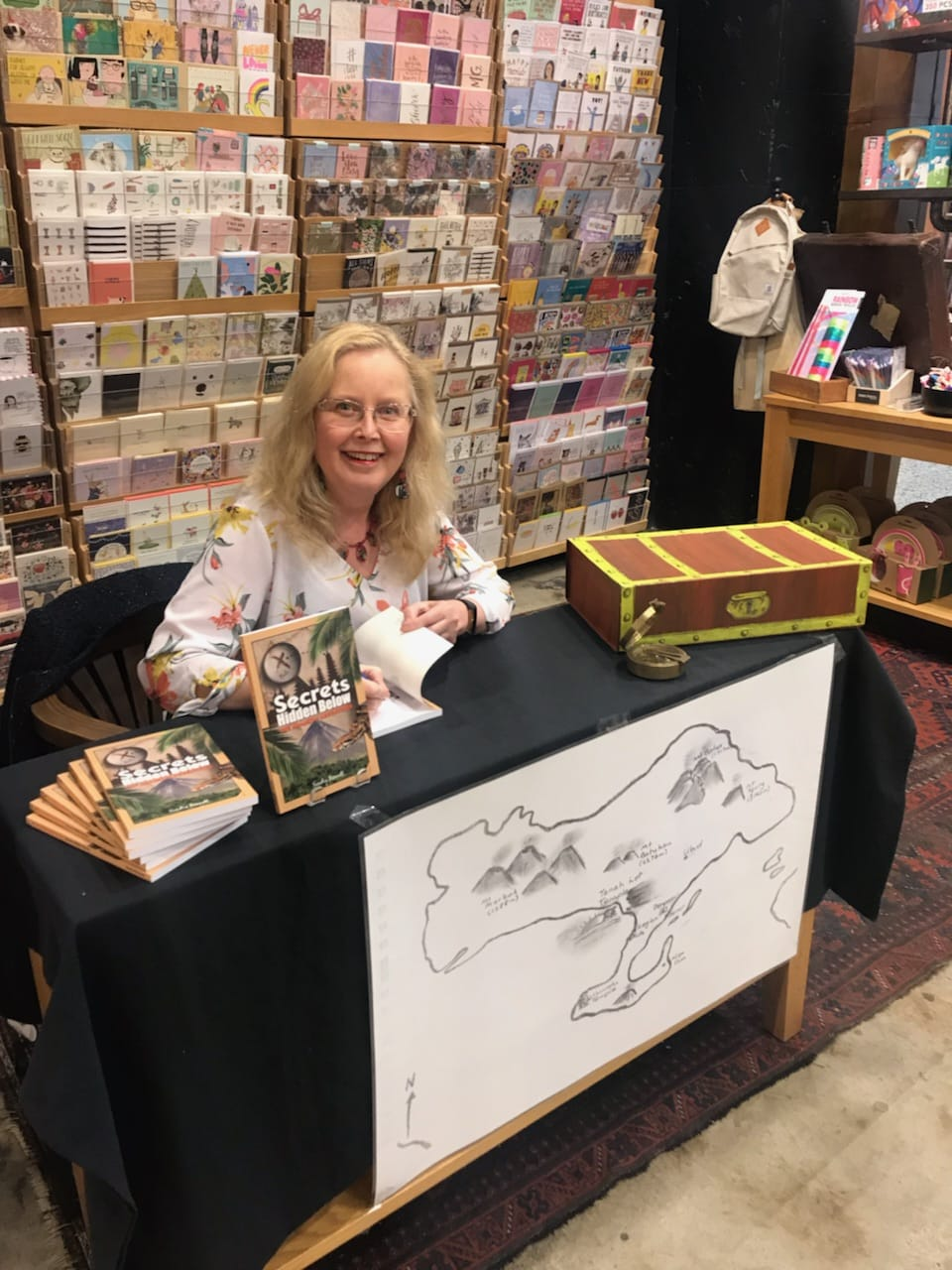 My Book signing at Harry Hartog Woden last year.