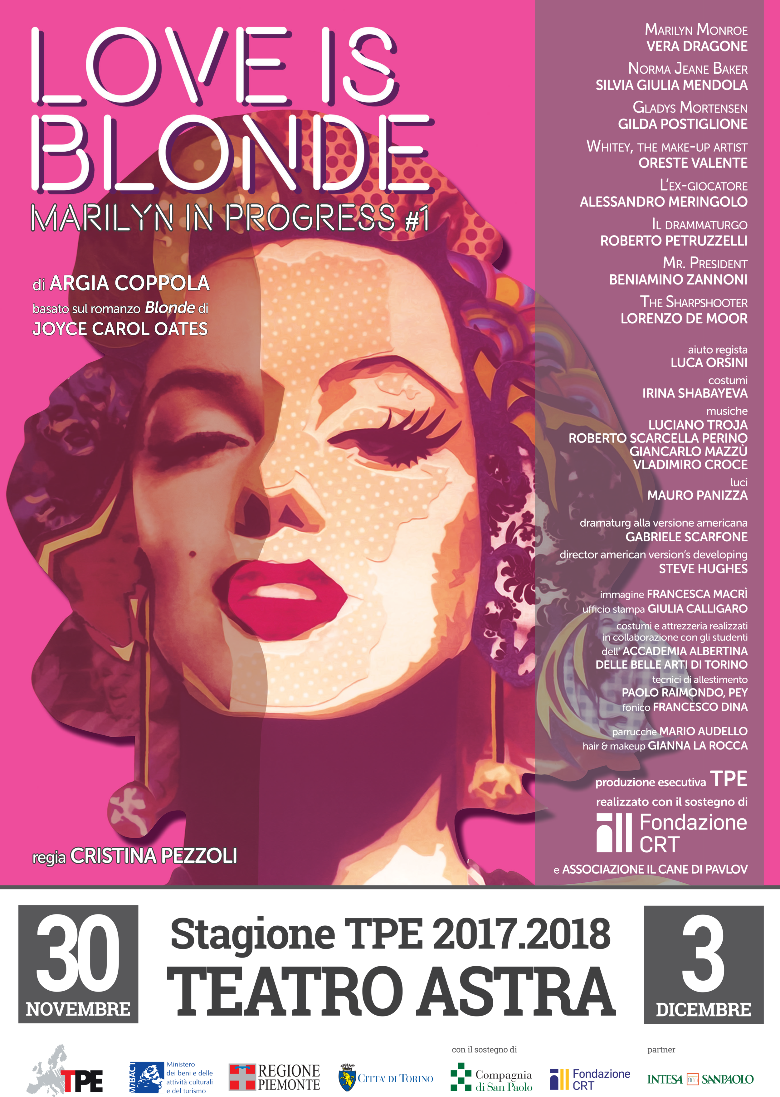 The official Italian playbill