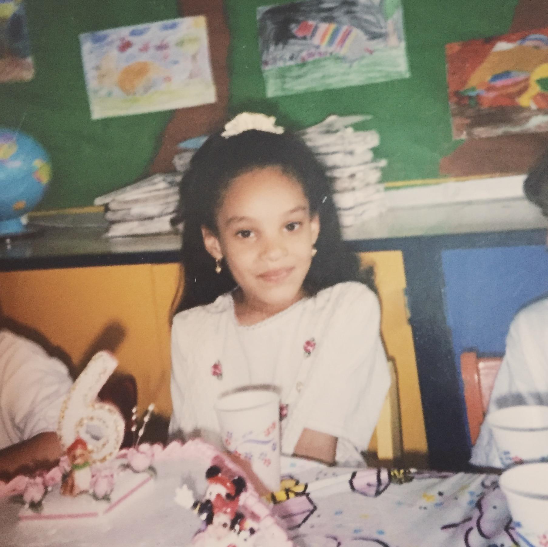 Kindergarten Birthday Party, 1996
