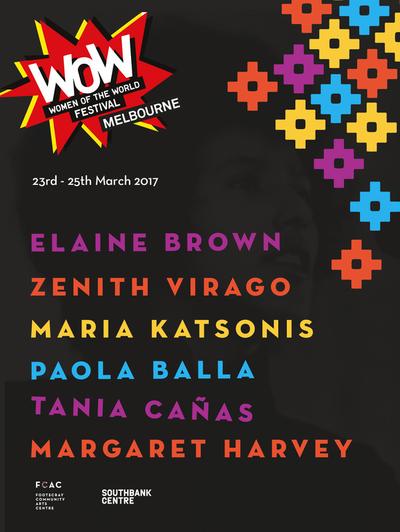 FCAC Women of the World Festival sample Flyer