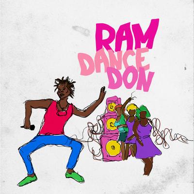 Sample Album Cover for SK Simeon's album Ram Dance Don.