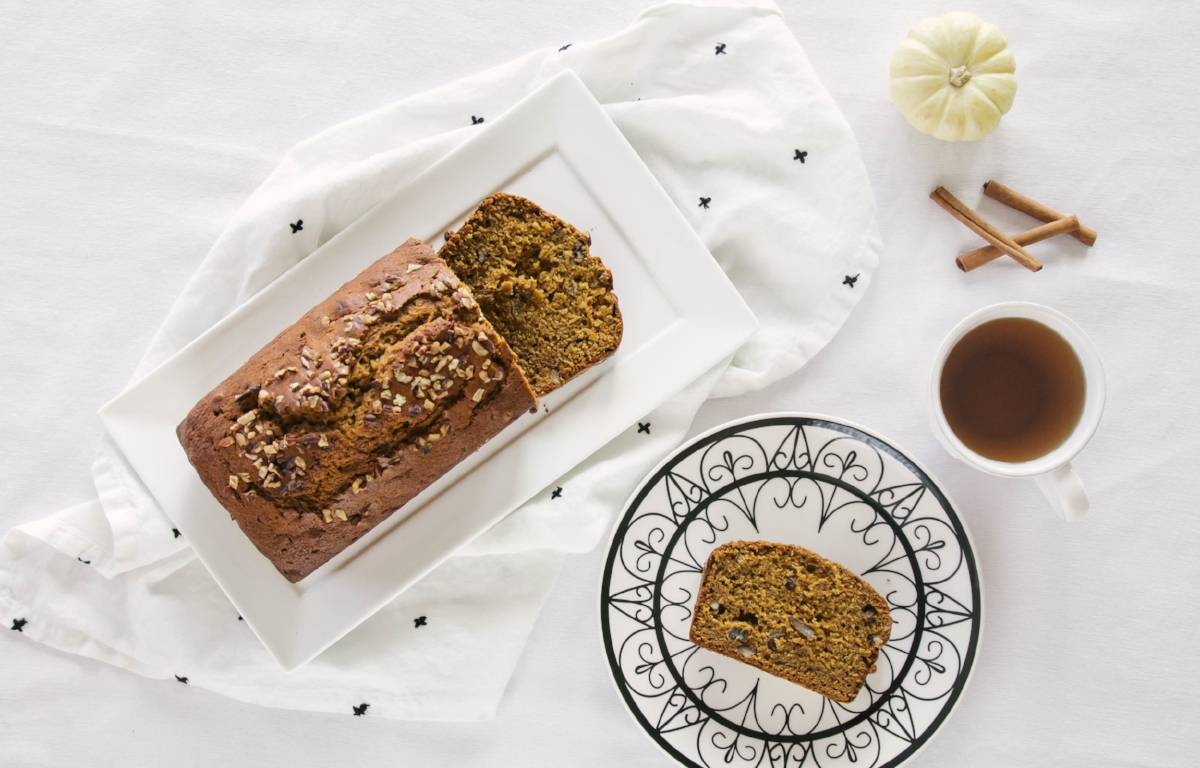 Pumpkin Spiced Bread Recipe