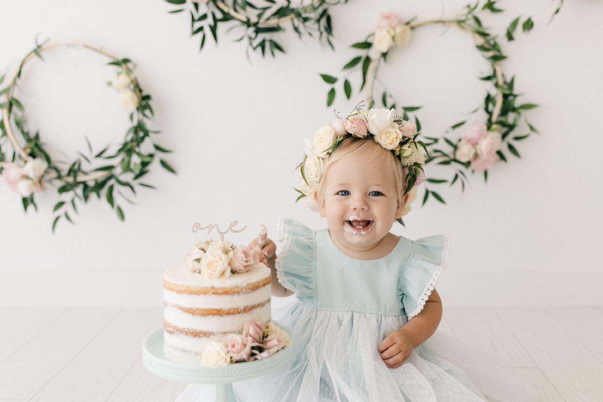 Custom Cake Topper - First Birthday