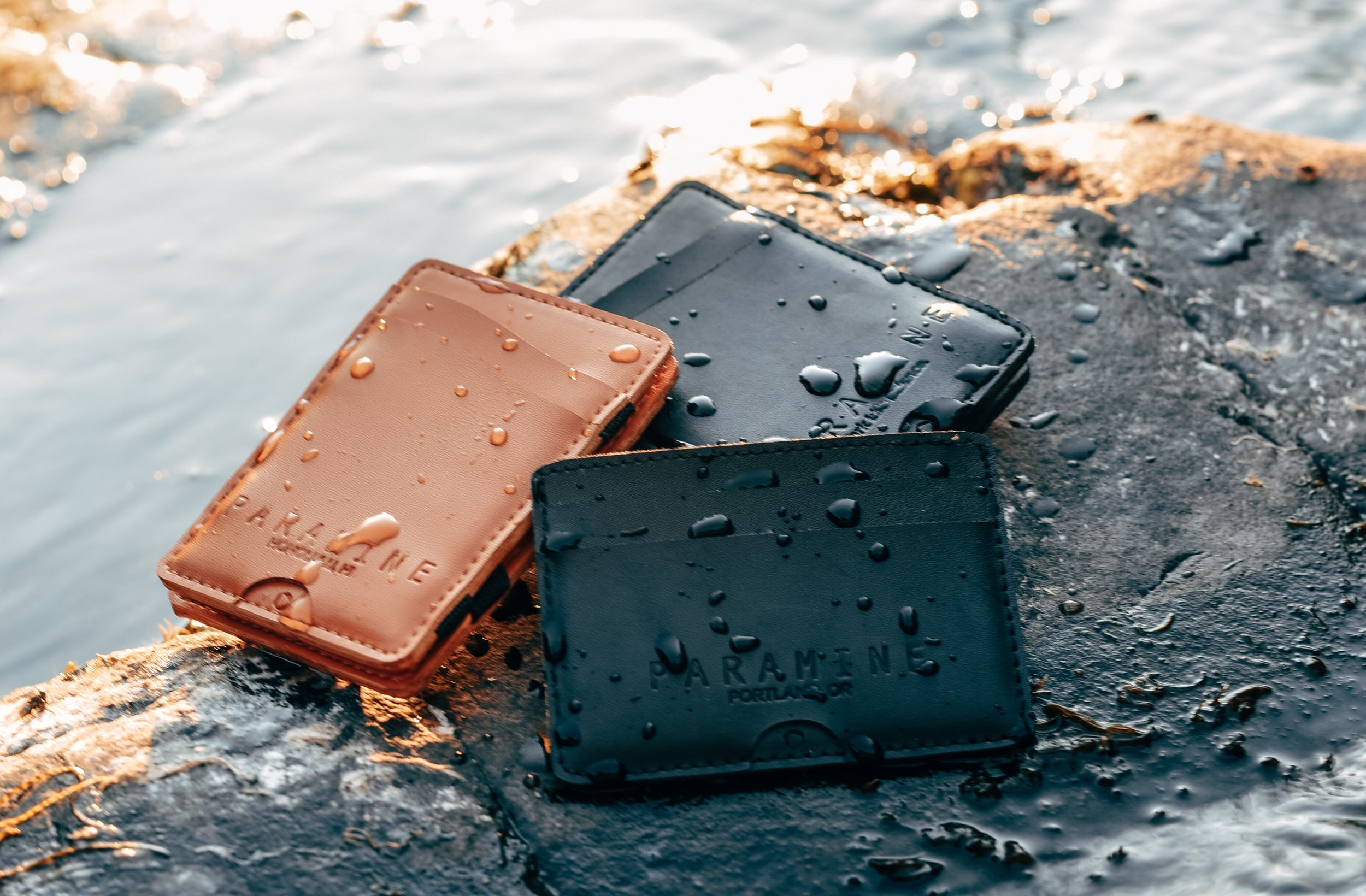 Weather Resistant Exterior - Water resistant material that uses a carefully modified leather by adding a nano polyurethane cover for durability wherever or whenever.