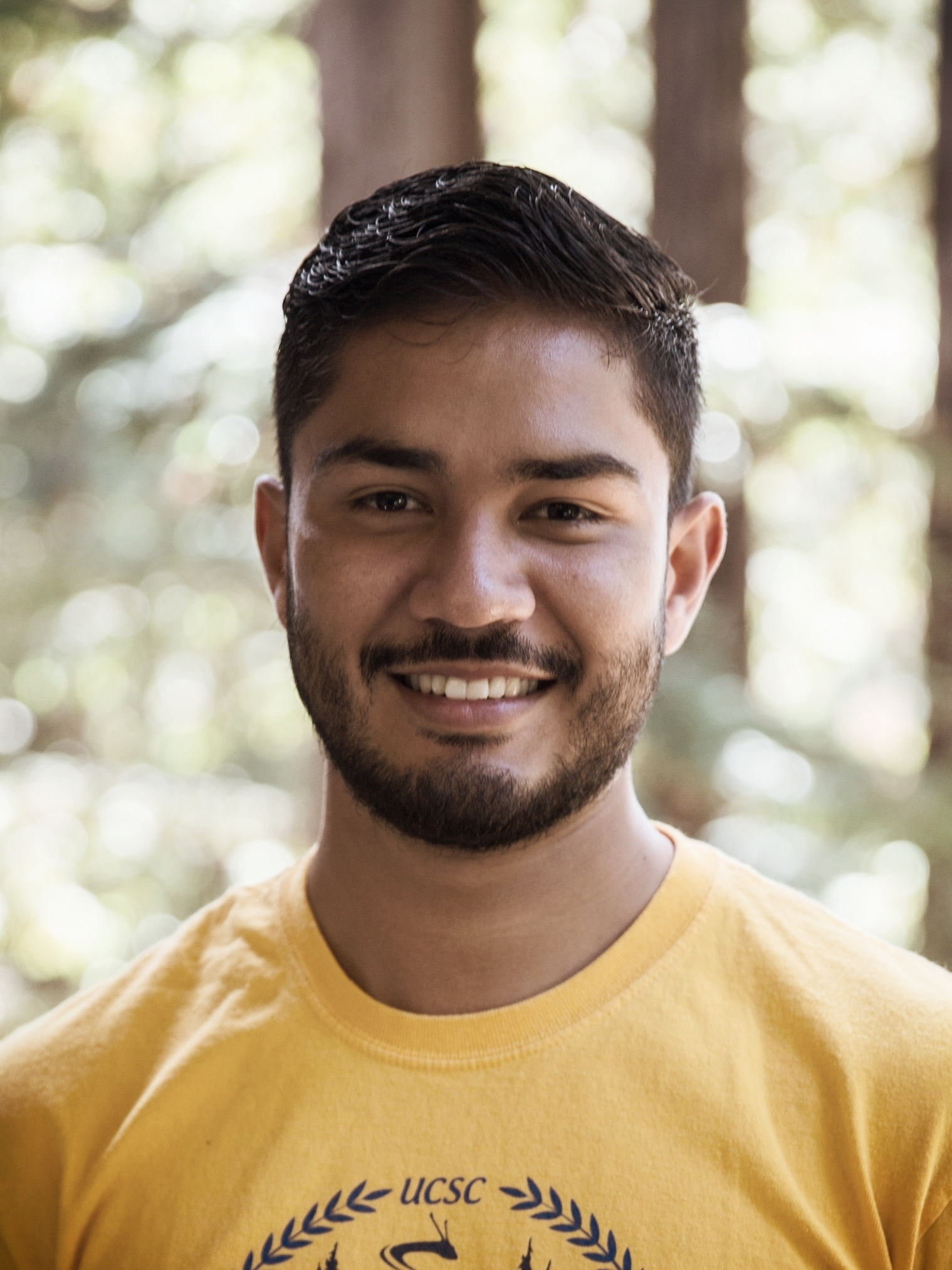 Jose Fuentes (Elect. & Comp. Eng.)  Jose received his  B.S.  in  Electrical Engineering from University of California Santa Cruz (2018)  and is now continuing with his  M.S. in ECE  with a concentration in  Photonics and Electronic Devices  at  UCSC . His research focuses on the fabrication and characterization of nano-fluidic devices as well as BioNEMS technologies for life sciences and point-of-care-diagnostics.