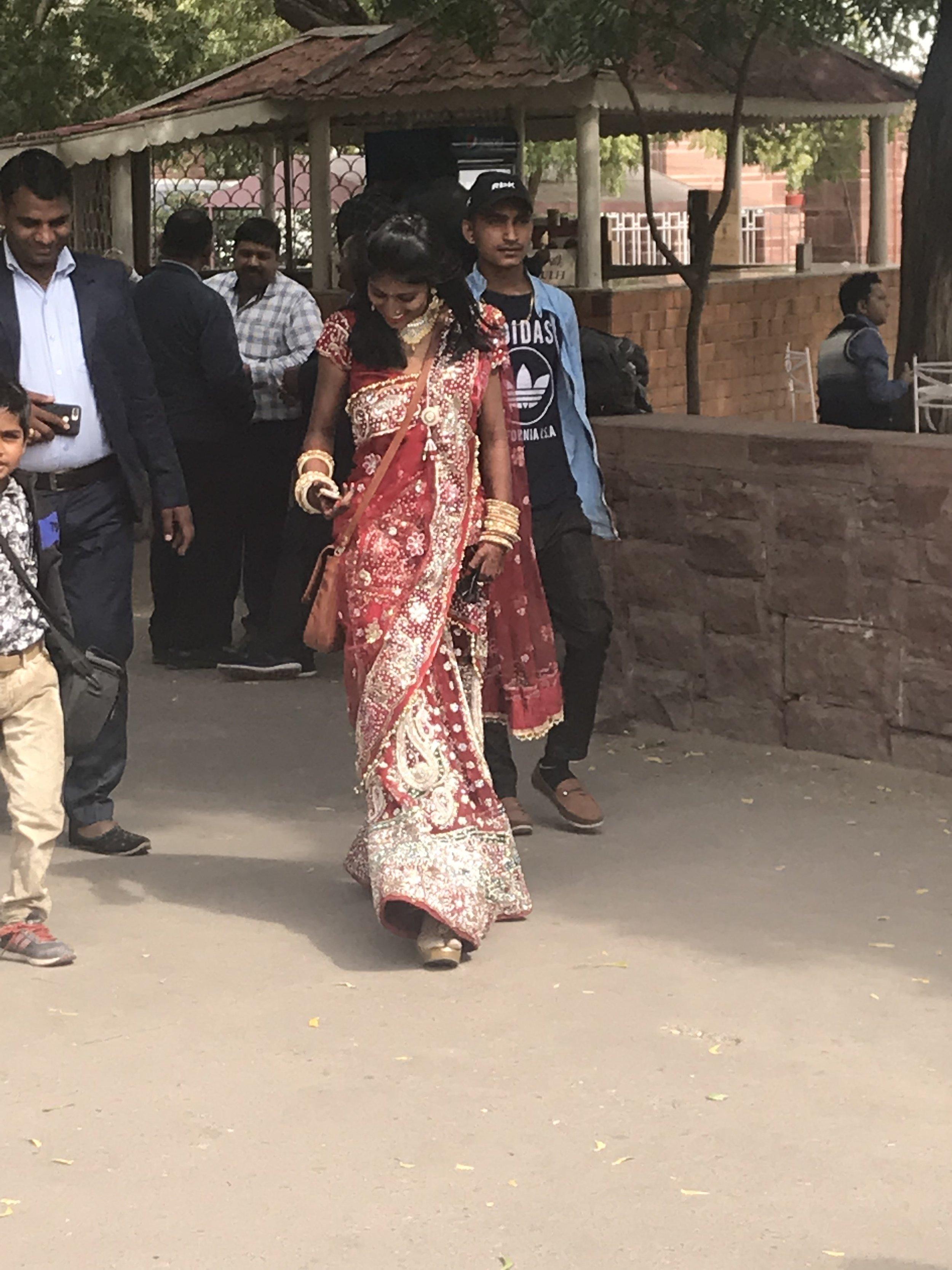 Raj woman in Sari.jpg
