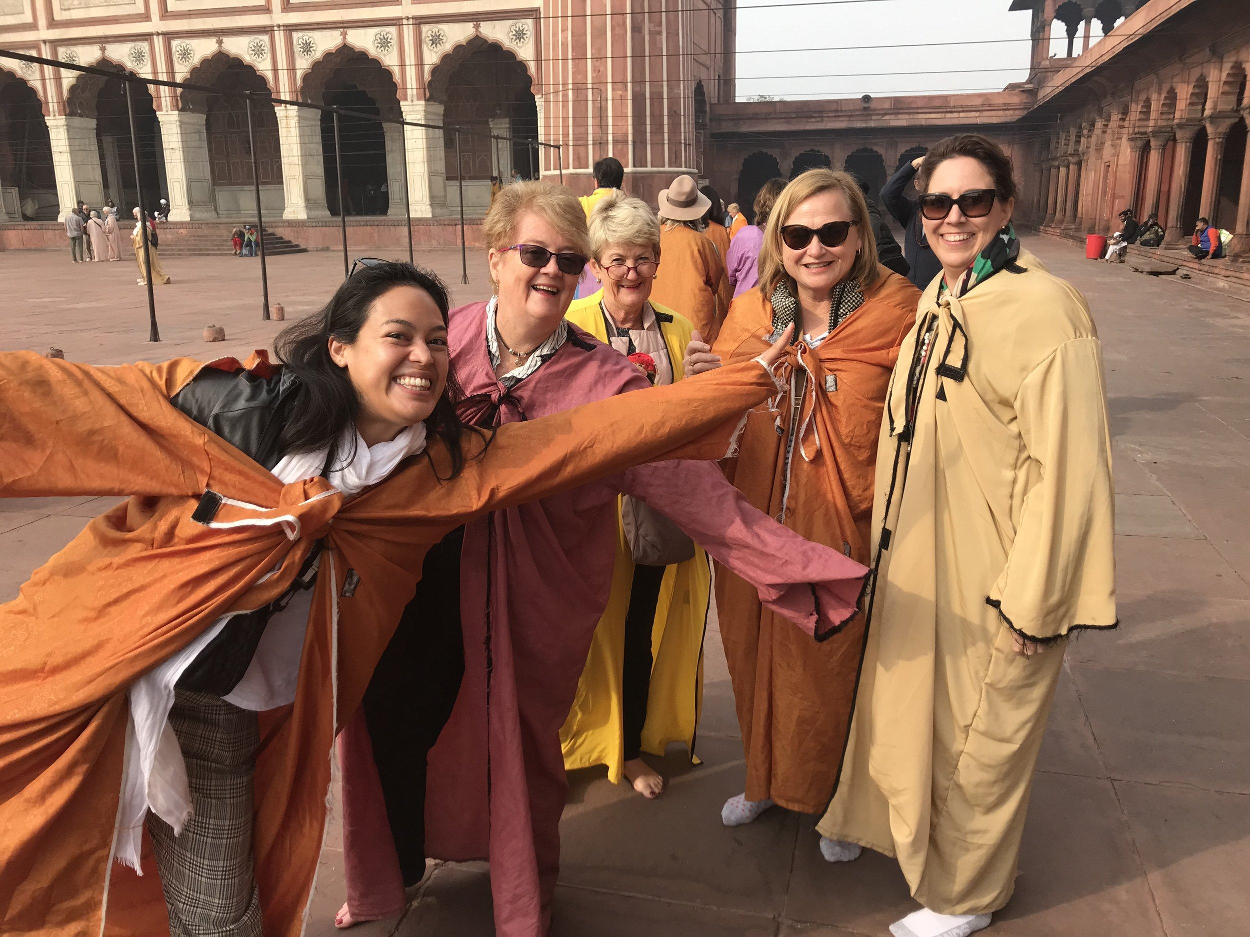 Raj girls in robes.jpg