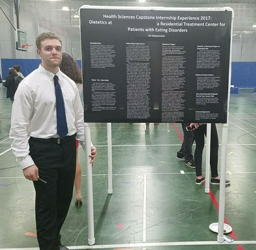 Presenting my Capstone experience and research.