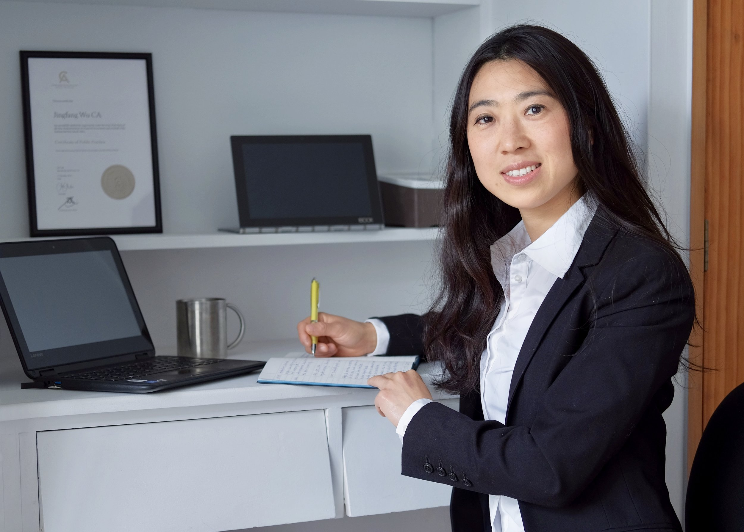 Accounting services - Jing's aim is to provide you with advice when your business needs it - not just when you ask for it.