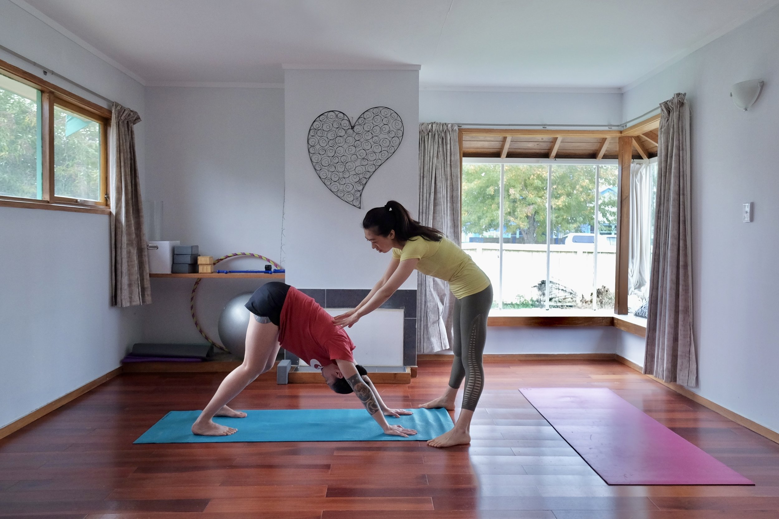 Yoga & meditation classes - Weekly classes in Takapuna for strengthening your body and relaxing your mind.