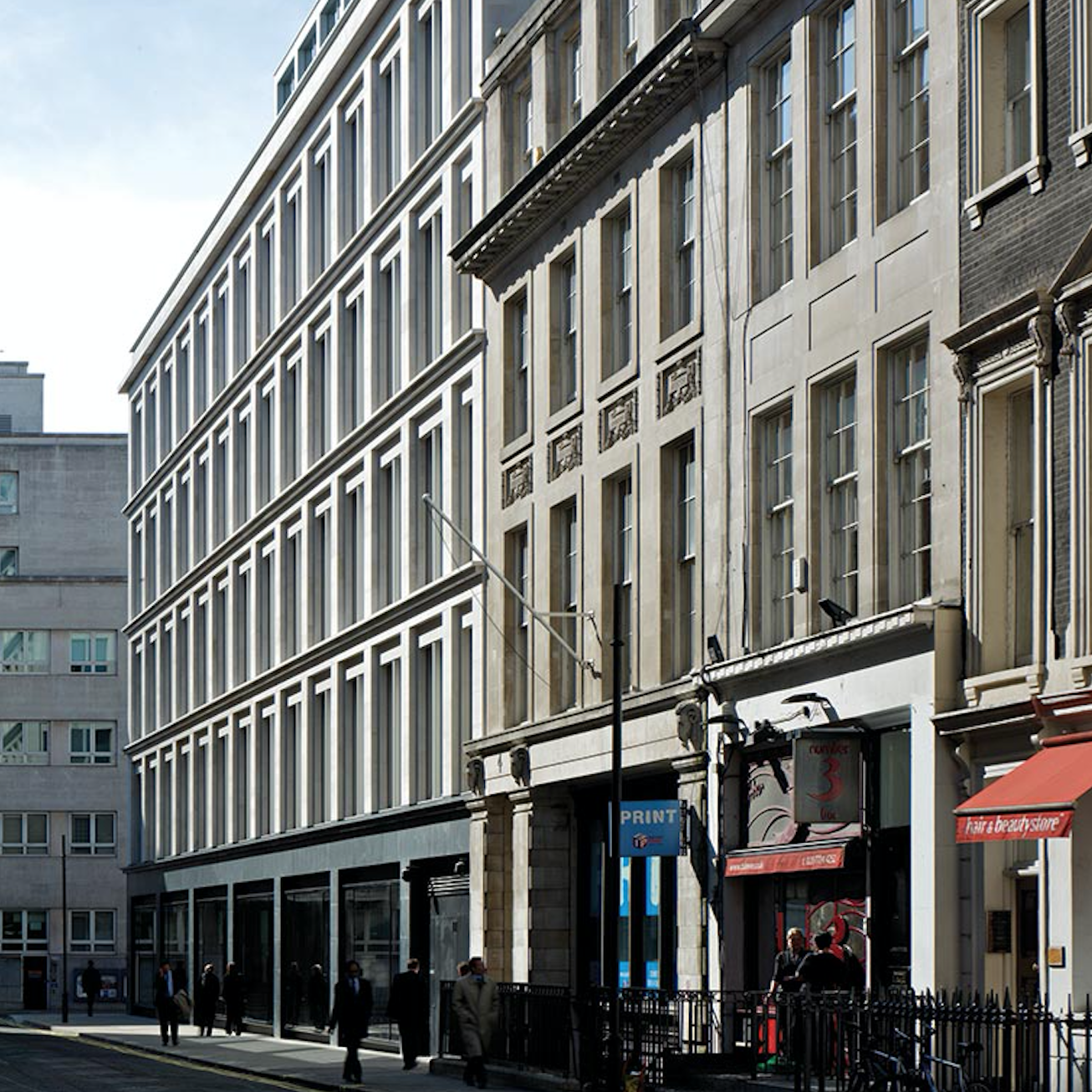 23 Saville Row, London, Eric Parry Architects