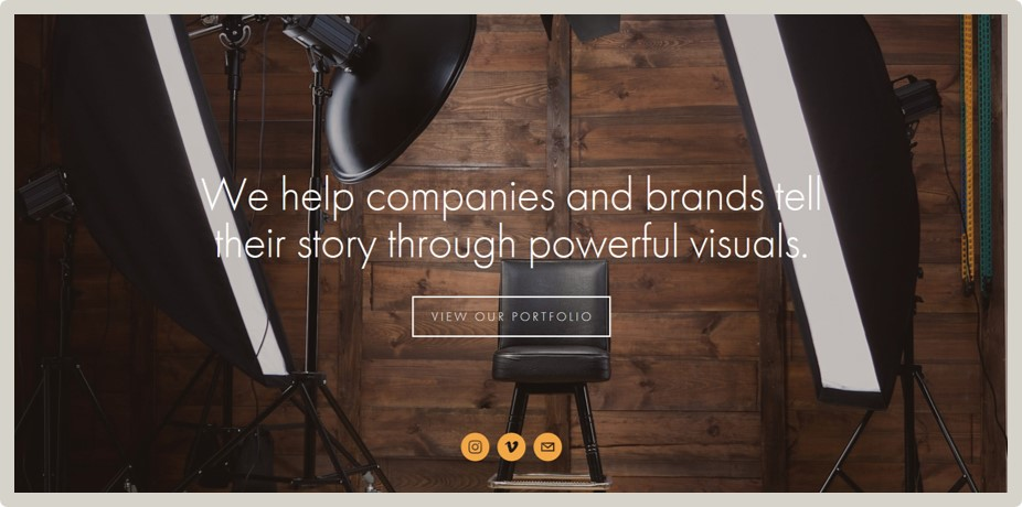 """2123 Visuals - """"Ali's work is nothing short of amazing!! Not only was the communication amazing, but the level of service and expertise was was second to none. If you're looking for a professional website with all the bells and whistles, there's no one better than Ali! Feel free to view my site for proof.""""– DiVinci Smith / Filmmaker"""