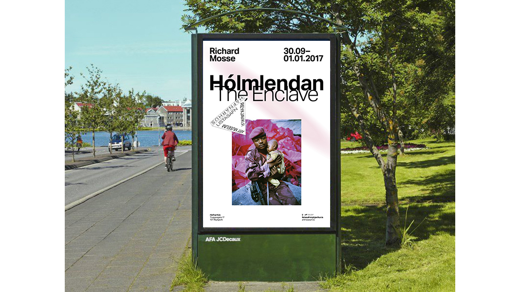 Exhibition Poster in Reykjavik