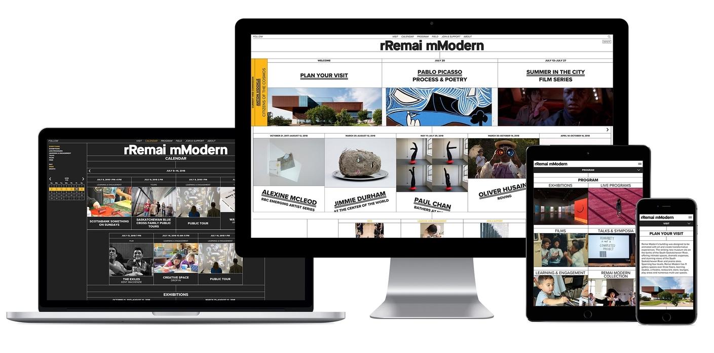 Remai Modern Website:  remaimodern.org