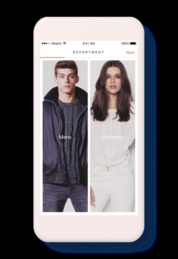 Fashion Finder Concept - Onboarding 2.png