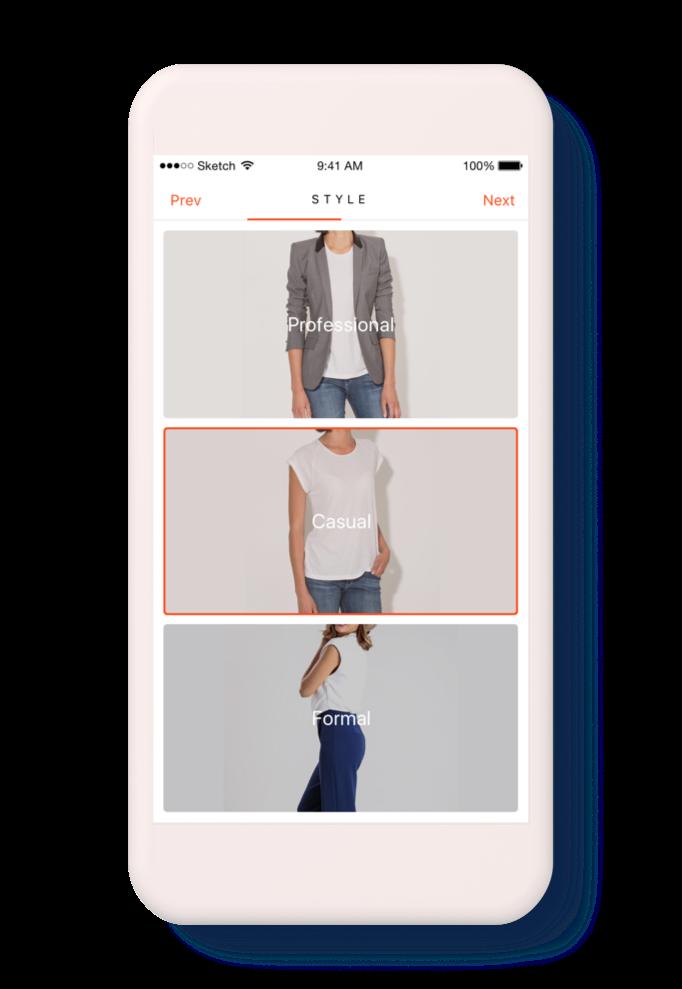 Fashion Finder Concept - Onboarding 3.png
