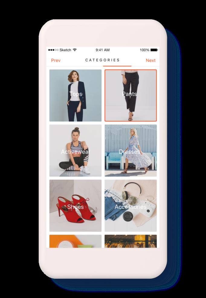 Fashion Finder Concept - Onboarding 4.png