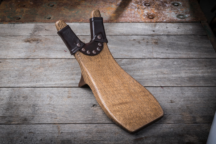 Fairview Texas - I received my Beefcake bootjack. Clearly old world heirloom quality. I've never seen anything like it and now have a bootjack that accessorizes our bedroom. Thank you for preserving this craft. Sincerely, Alan Campbell