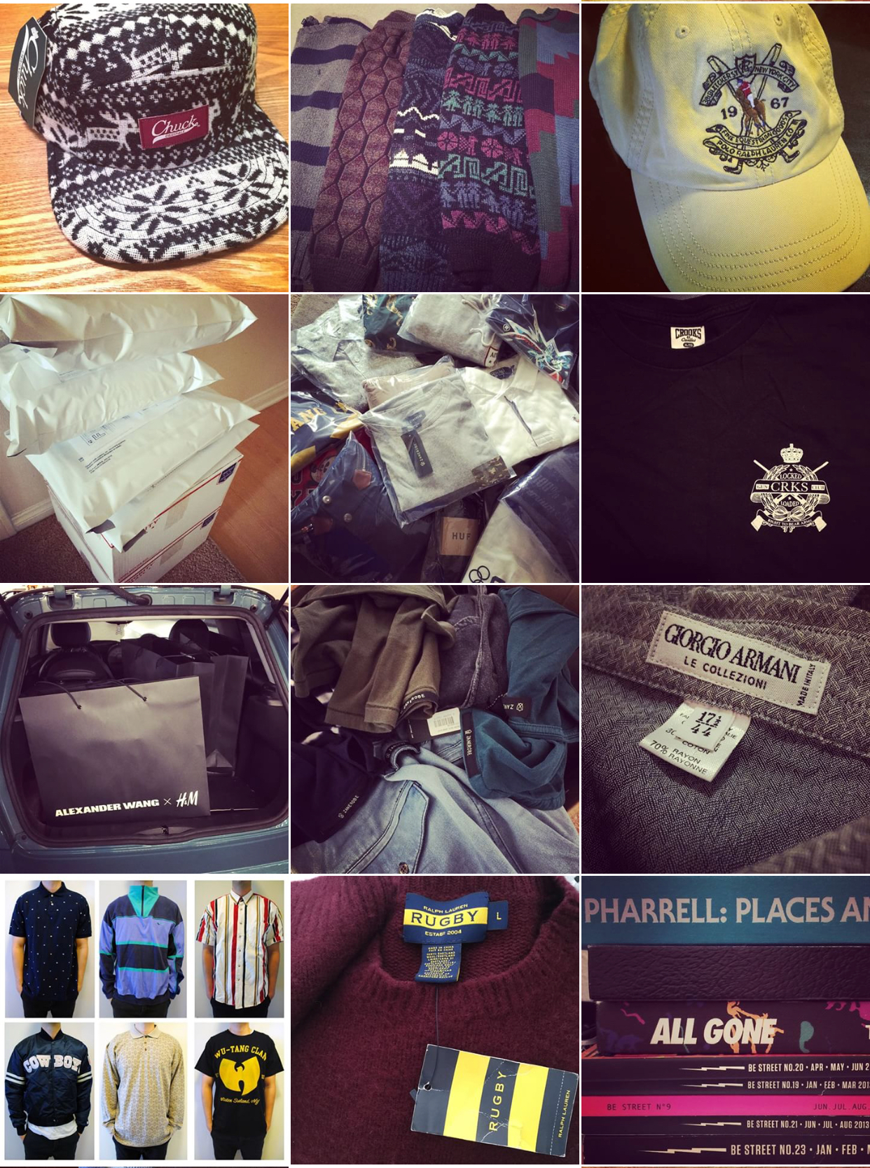 Instagram (@goodlookinout) feed from 2014.