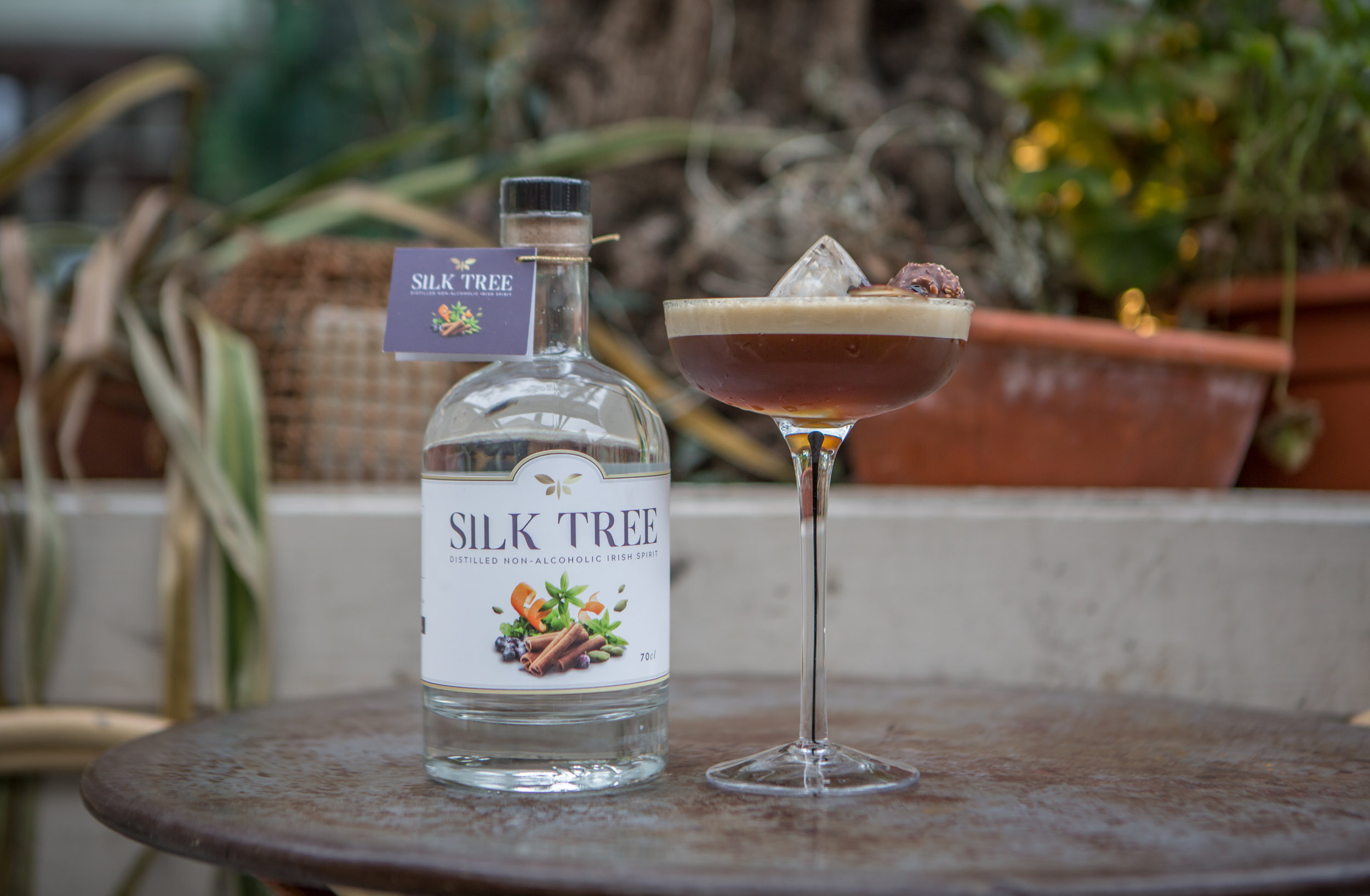 Silk Tree Espresso Martini | Irish non alcoholic spirit