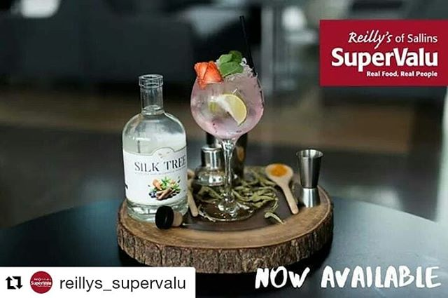 Silk Tree now available in Kildare😊 ・・・ ⭐ NEW NON ALCOHOLIC GIN ⭐  Reilly's SuperValu are proud to announce that we are now stocking @silktreebotanics delicious non-alcoholic gin-alternative!  It goes great with tonic, ice and lemon or your favourite mixer! All the flavours and fun, without the hangover -  priced €34.99. *Limited supplies.  #SilkTree #ReillysOfSallins